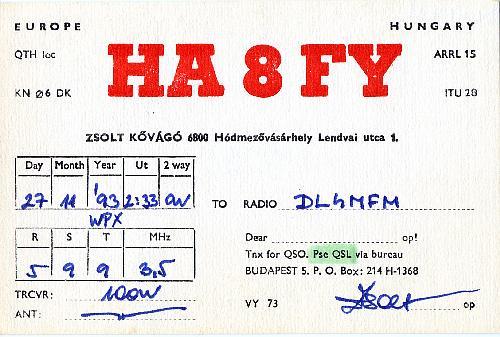 HA8FY