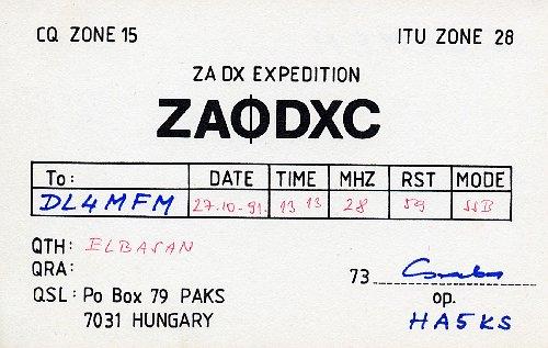 ZA0DXC