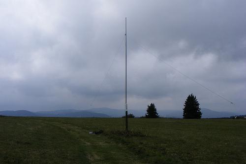 40m Dipol auf dem Heidelstein