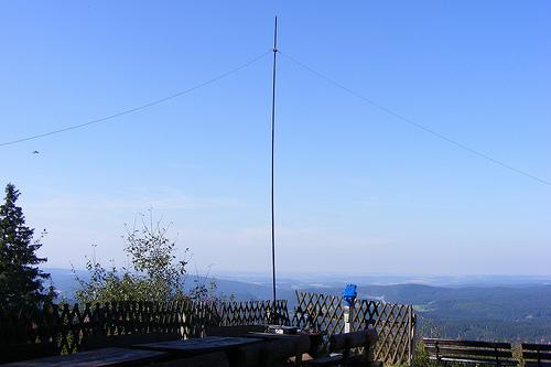 40m Dipol auf dem Auersberg, DM/SX-002