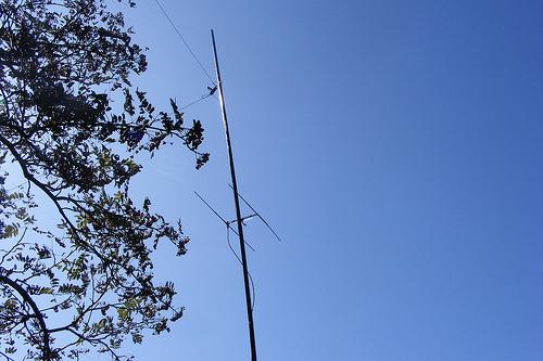 40m / 2m Antenne auf dem Bärenstein DM/SX-004