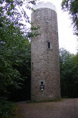 Der Aussichtsturm auf dem Nonnenstein