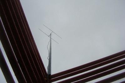 144MHz HB9CV auf der Aussichtsplattform