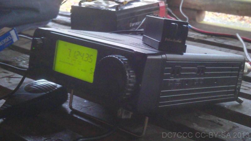 ICOM IC-706 Transceiver (KW, 6m, 2m 100w/50w) von Peter, DK2RMP