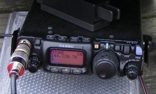 Yaesu FT-817 ND auf dem Piesberg