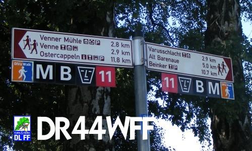 Wanderwege am Venner Berg