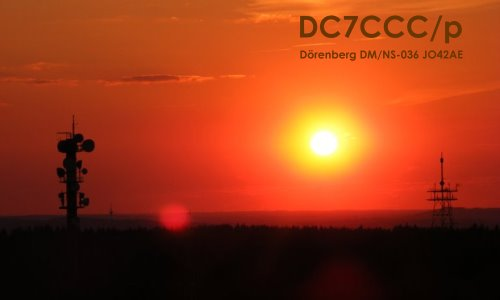 Sunset on Dörenberg DM/NS-036 (DLFF-125)