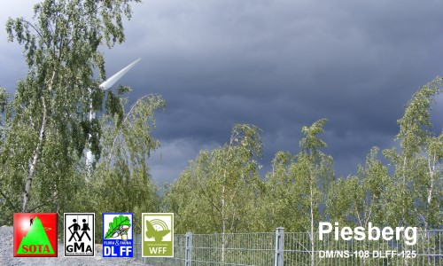 Upcoming Rain on Piesberg