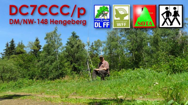 DC7CCC/p on DM/NW-148 Hengeberg