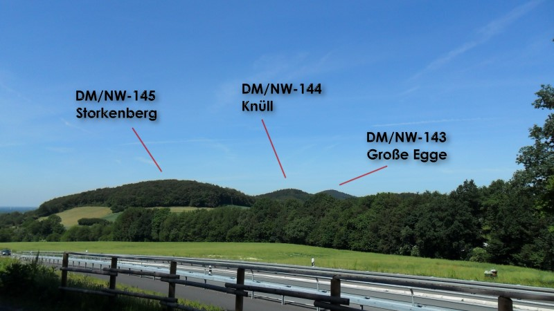"""View in Direction """"Große Egge"""""""