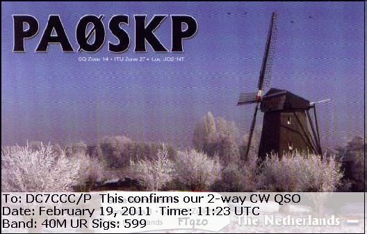 eQSL from PA0SKP