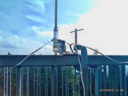 Superantennas MP-1 on the Tower