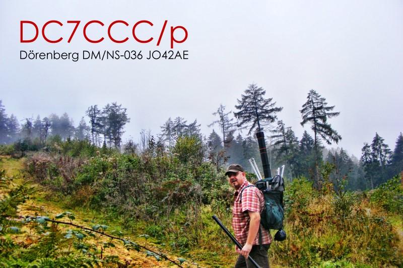 DC7CCC @ ascend to the Dörenberg DM/NS-036