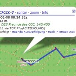 APRS Track (OSM)