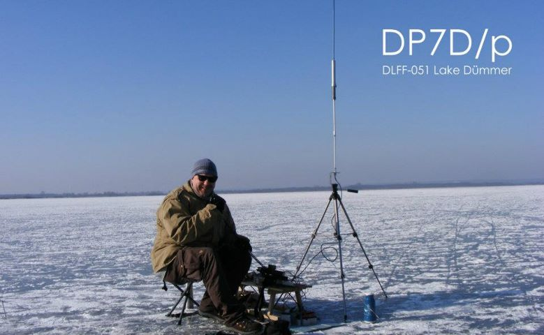DC7CCC operating on Lake Dümmer