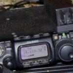 S-Meter-Ausschlag auf meinem Funkgerät von DP1POL