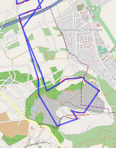 APRS Track on OSM