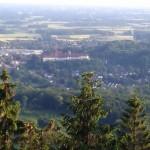 Das Schloss in Bad Iburg vom Hermannsturm aus gesehen