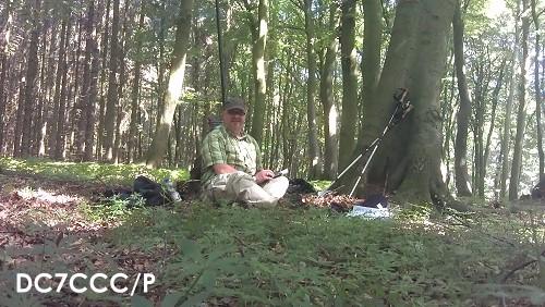 DC7CCC/P: im Waldmeister-Wald