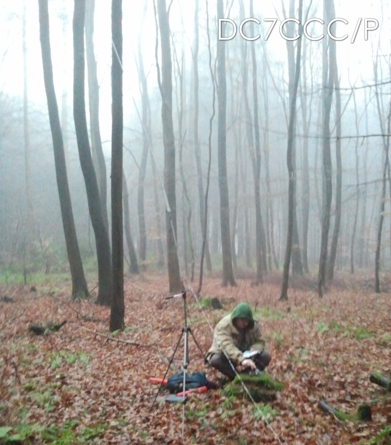 "auf dem Stemweder Berg, DM/NW-256, in einem ""Blair Witch Project""-Ambiente"