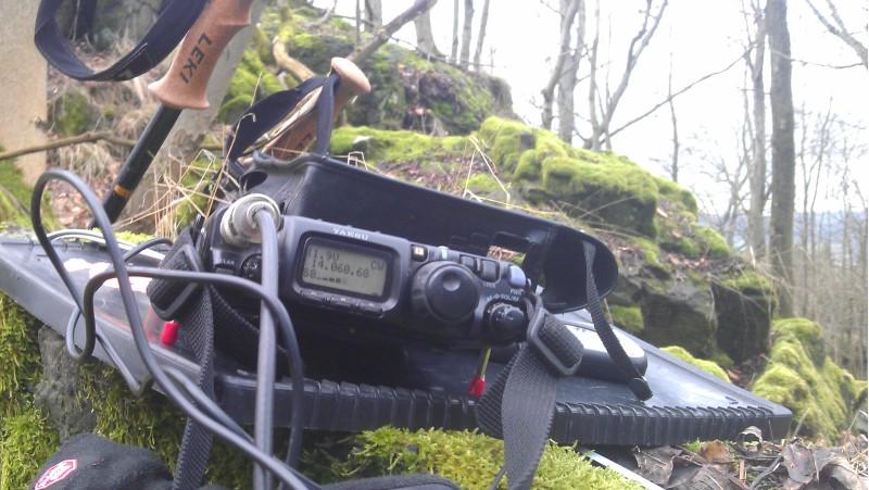 FT-817 ND auf 20m