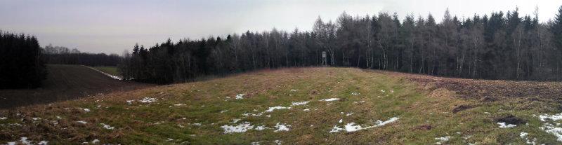 """Der Kammweg auf der Endmoräne """"Trillenberg"""""""