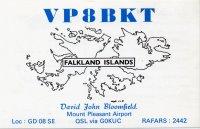 VP8BKT von den Falklandinseln