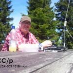 DC7CCC/p auf dem Auersberg