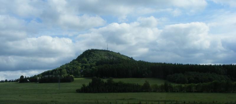 Der Scheibenberg in Sachsen