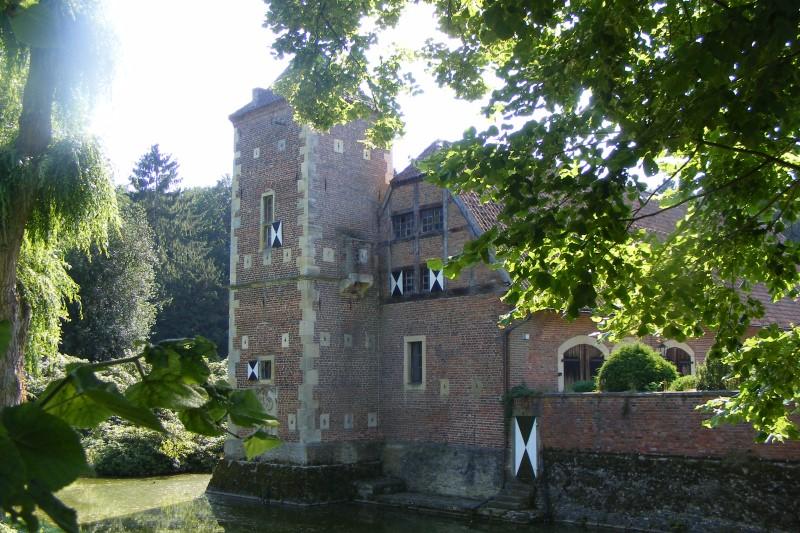 Burg Hülshoff bei Münster / Westfalen