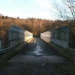 crossing the Autobahn 1