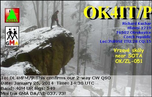 OK4IT QSL