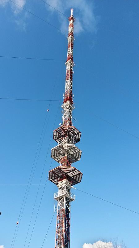 "234m high Radio Tower ""Schleptruper Egge"""