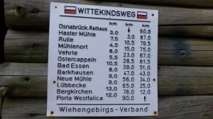 Streckenverlauf Wittekindsweg