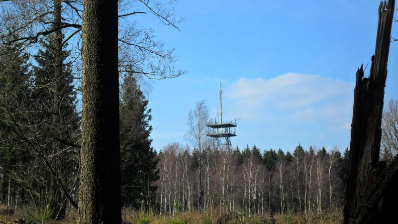 """Der Fernmeldeturm auf dem """"Grafensundern"""" DA/NI-026"""