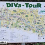 hier endet, bzw. beginnt der DiVa Walk