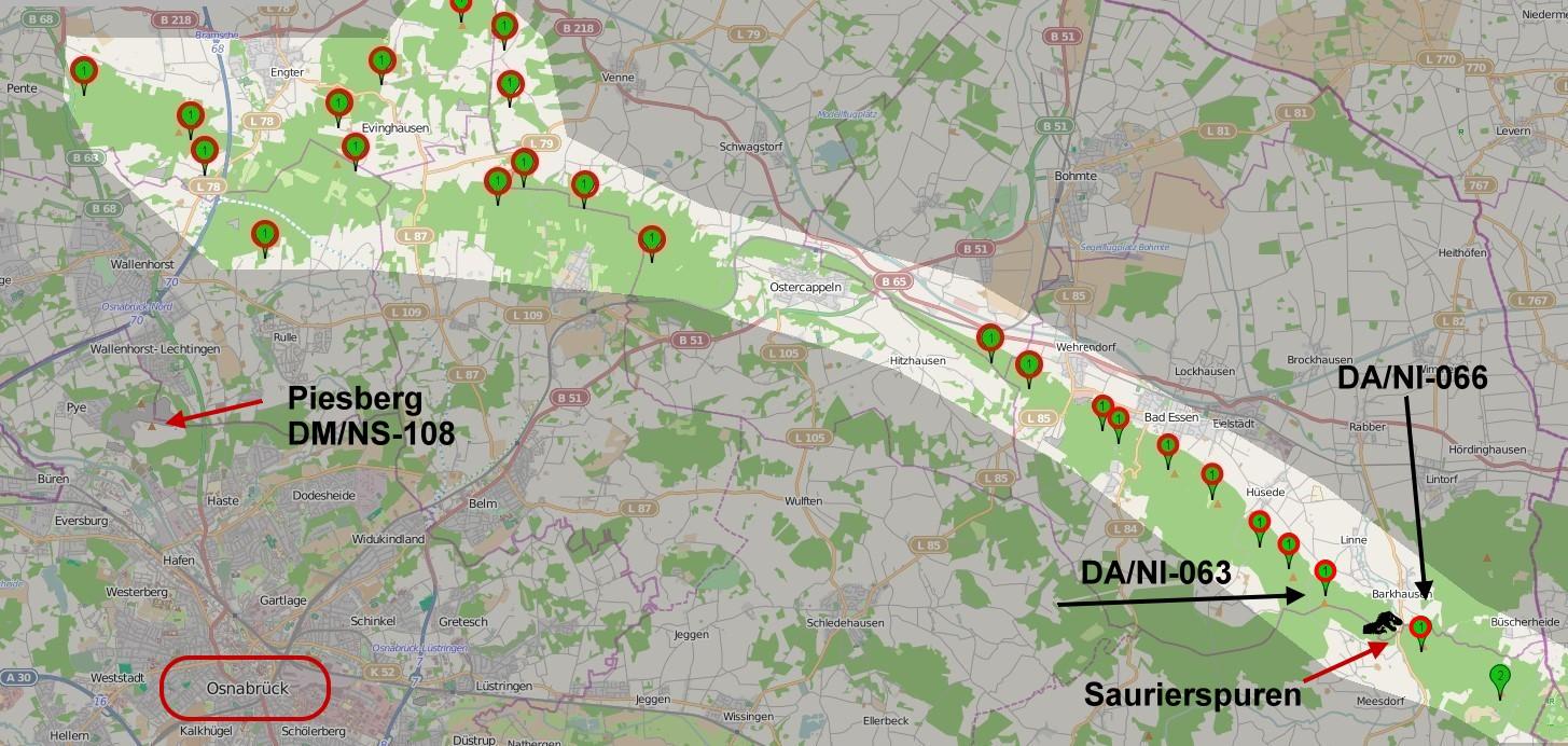 Tour auf OpenStreetMap