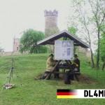 Funkbetrieb an der Mühlburg
