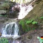 A Waterfall in the Wiehen Hills