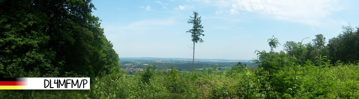 View from the Summit over the City of Osnabrück