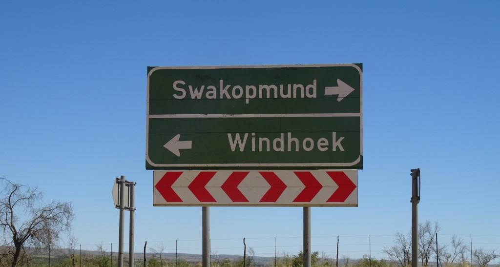 """Das """"von-Francois-Fort"""" liegt an der Straße von Windhoek nach Swakopmund"""