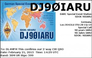 DJ90IARU