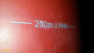 200m a.s.l.