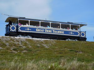 Tram to Great Orme Summit