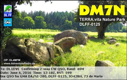 eQSL for this activity