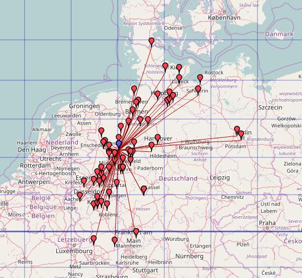 QSO Map