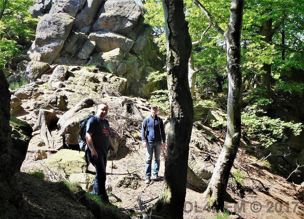 Funkwanderung im Harz