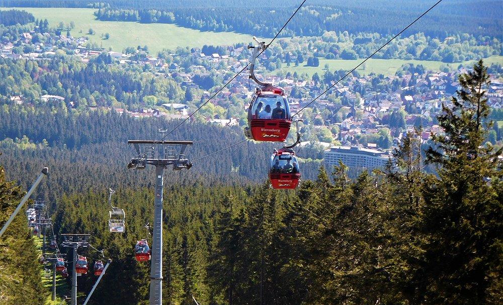 Aufstieg auf den Wurmberg