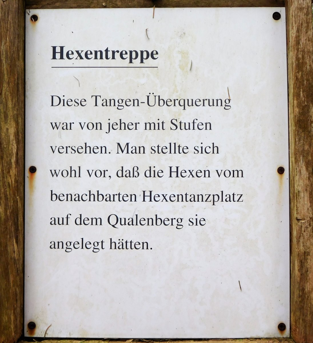 Hexentreppe