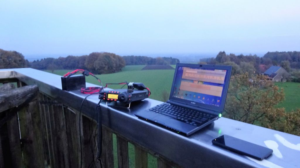 Station with N1MM logging software